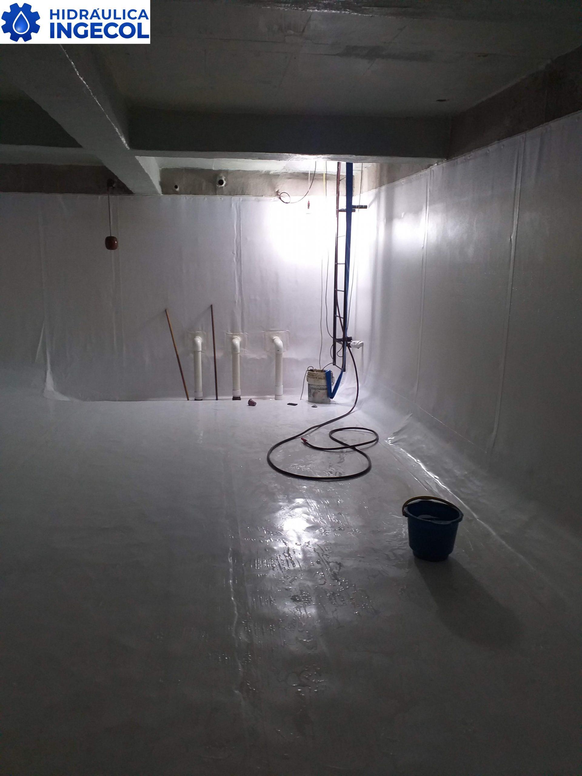 Lavado y desinfección de tanques de almacenamiento de agua potable